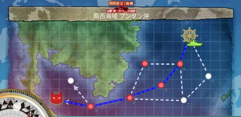 E-1 南西海域 ブンタン沖マップ