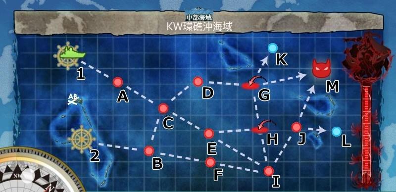 6-5KW環礁沖海域マップ