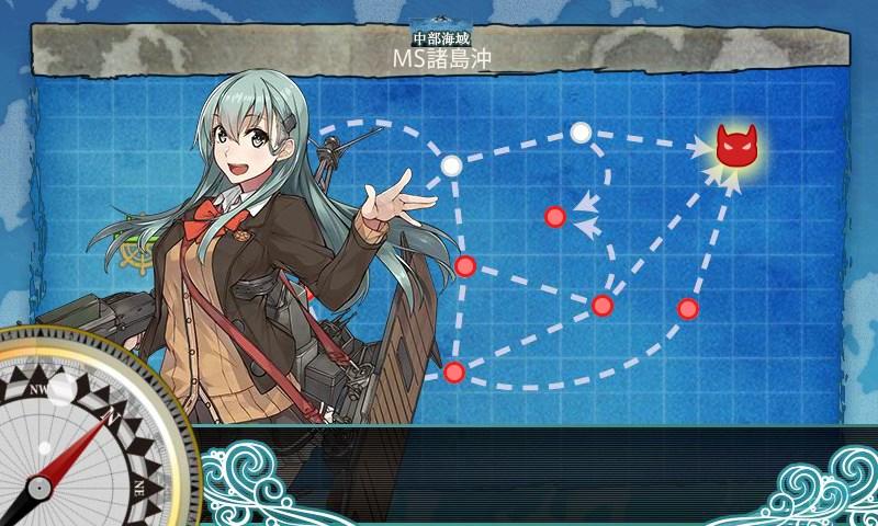 【艦これ】6-2 MS諸島沖 攻略/周回【中部海域】