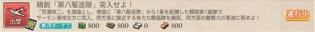 精鋭「第八駆逐隊」突入せよ!
