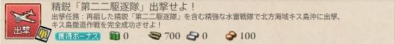 精鋭「第二二駆逐隊」出撃せよ!