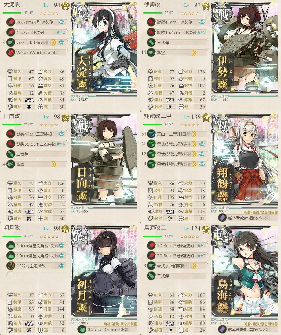 新編「四航戦」、全力出撃!4-5攻略編成