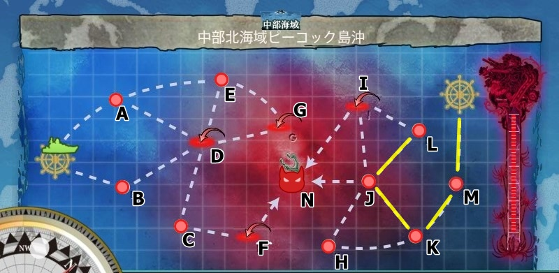 6-4 中部北海域ピーコック島沖 離島再攻略作戦