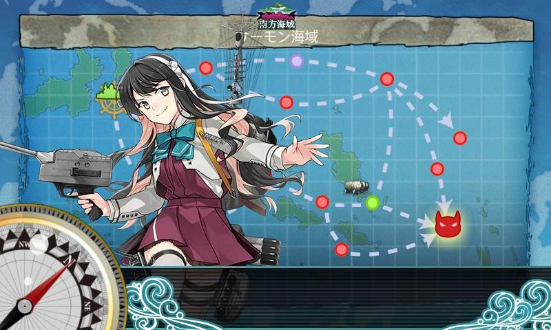 【艦これ】精鋭「三一駆」、鉄底海域に突入せよ!攻略【クォータリー任務】
