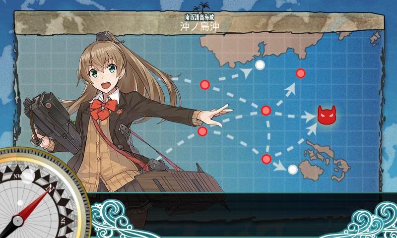 【艦これ】2-5周回お米・海苔集め攻略【食べ物ミニイベント】